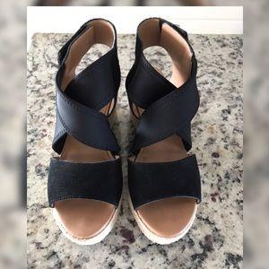 Moda Spana Kat Espadrille Wedge Sandal